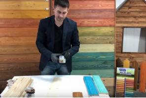 Покраска деревянных стен и потолков (Натуральная краска для дерева) | Сигма Колор